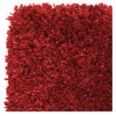 LUXURY SHAGGY 7001/010 bright red