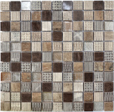 СМ 3045 С3 Brown/Eboni/Beige Silver 30x30 мозаика