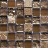 S-MOS CLHT04 ST+GL BROWN PEARL 30x30 мозаика